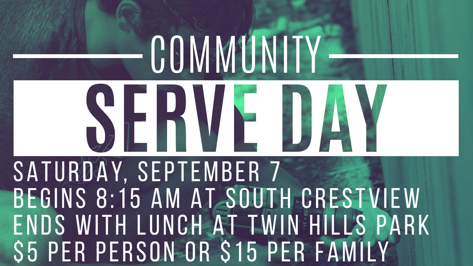 Community Serve Day 2019 (South Crestview Campus)